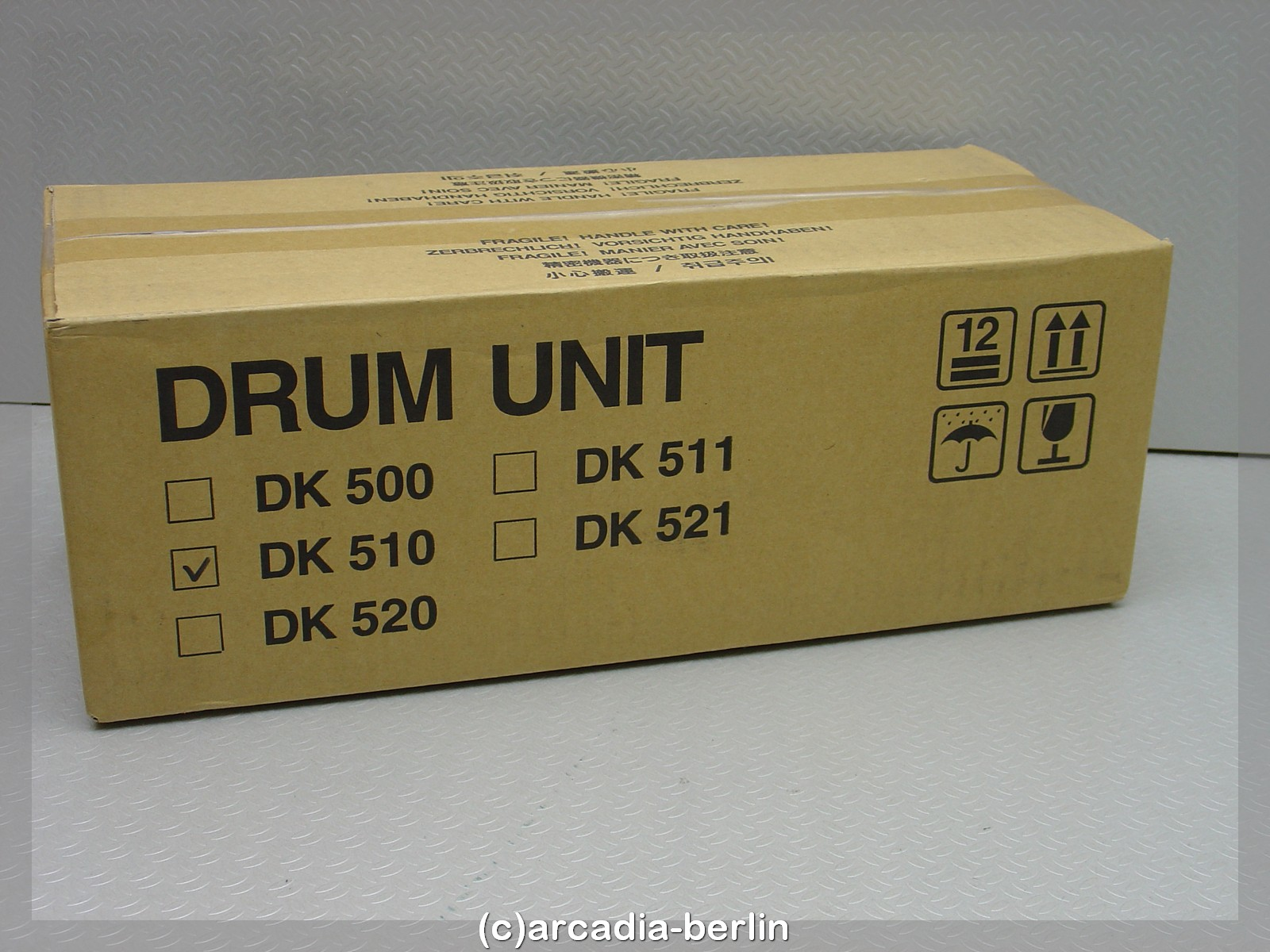 Original Drum-Kit TK-510 für Kyocera FS-C5020 (302F393011)