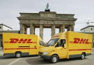 DHL, der Logistikpartner von arcadia-Berlin